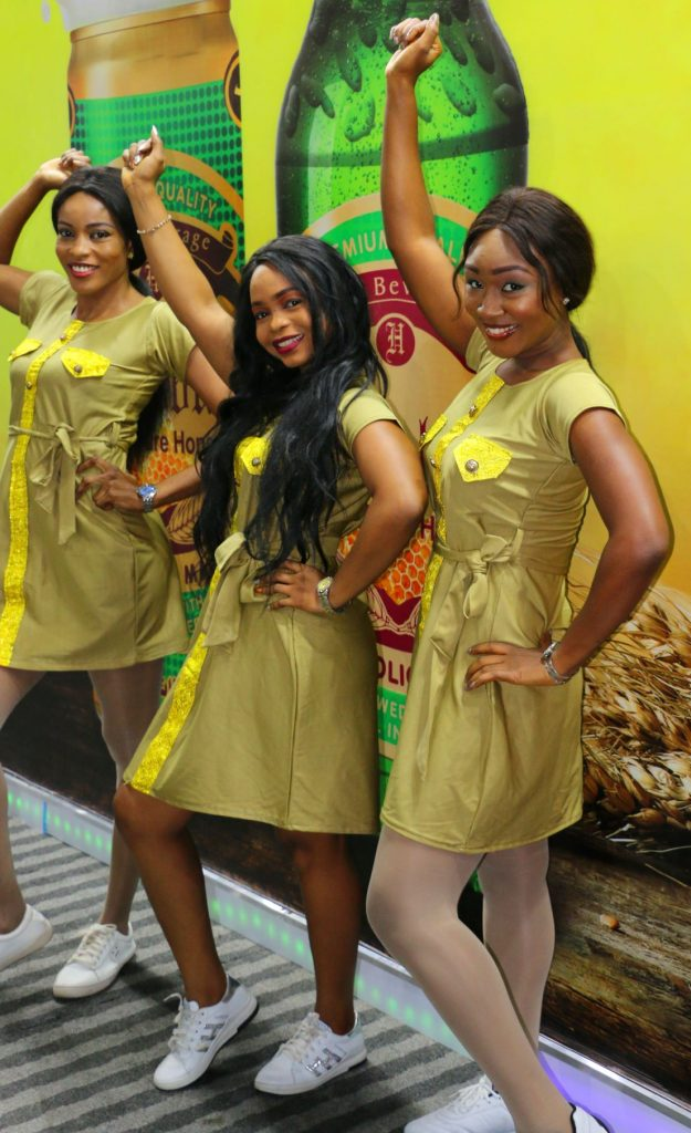 exhibition hostesses at food and beverage west africa