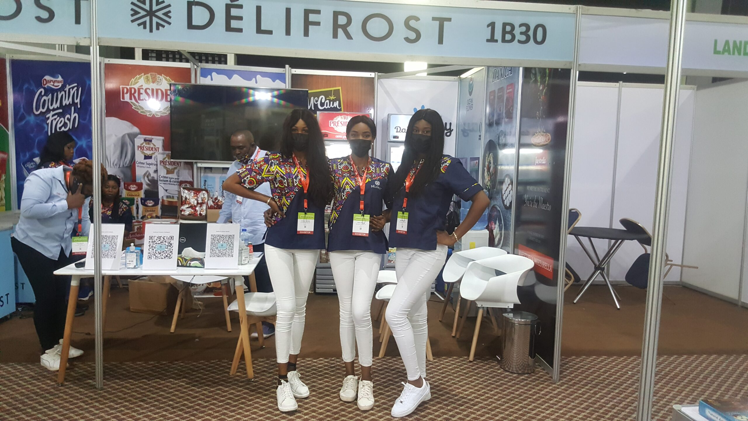 hostesses for COVID-19 compliant events and social distancing